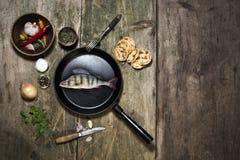 Perch fish Stock Photo