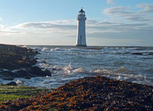 Perch rock lighthouse Stock Photography