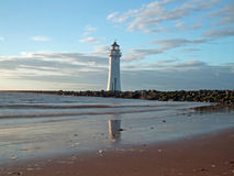 Perch rock lighthouse Stock Image