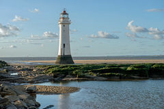 Perch Rock Lighthouse, England Royalty Free Stock Images