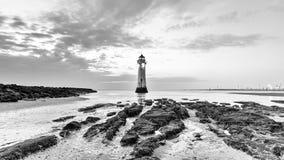Perch Rock Lighthouse New Brighton Wirral England UK Stock Photos