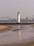 Perch rock lighthouse Stock Photo