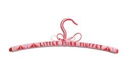 Percha de capa del niño (color de rosa) Foto de archivo libre de regalías
