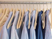 Percha de ropa Fotografía de archivo libre de regalías