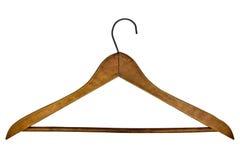 Percha de ropa de la vendimia Fotos de archivo