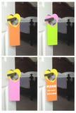 Perchas de puerta Fotos de archivo libres de regalías