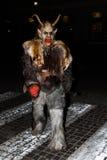 Perchten - αποκριές - μάσκες και δέρματα - αποκριές Στοκ φωτογραφία με δικαίωμα ελεύθερης χρήσης