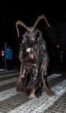 Perchten - Halloween - maskers en huiden - Halloween Stock Afbeelding