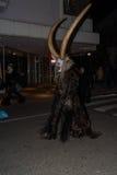 Perchten - Halloween - maskers en huiden - Halloween Stock Afbeeldingen