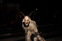 Perchten - Halloween - maskers en huiden - Halloween Royalty-vrije Stock Fotografie