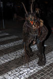 Perchten - Halloween - masks and skins - Halloween. Great Perchten and Krampuse on a Perchten.n Stock Images