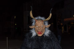 Perchten - Halloween - masks and skins - Halloween. Great Perchten and Krampuse on a Perchten.n Royalty Free Stock Photo