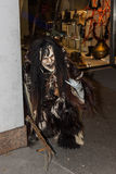 Perchten - Halloween - masks and skins - Halloween. Great Perchten and Krampuse on a Perchten.n Stock Photography
