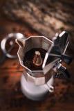 Percolated espresso coffee Stock Image