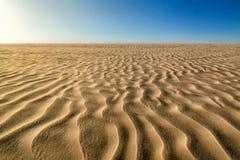 Percorsi della sabbia Fotografie Stock