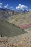 Percorso attraverso una valle di Ladakh Immagini Stock Libere da Diritti