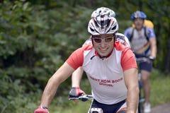 Percorso in bicicletta Immagine Stock