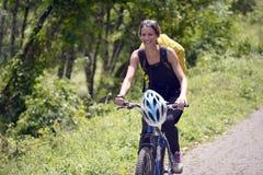 Percorso in bicicletta Immagini Stock Libere da Diritti