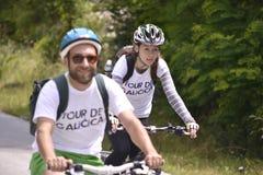 Percorso in bicicletta Fotografie Stock Libere da Diritti