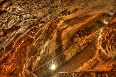Percorso in caverna Immagini Stock