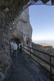 Percorso circostante della passeggiata di Pilatus del supporto, Svizzera Immagine Stock Libera da Diritti
