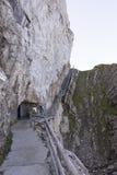 Percorso circostante della passeggiata di Pilatus del supporto, Svizzera Fotografia Stock