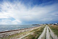 Percorso costiero nella costa di Finistere Fotografia Stock Libera da Diritti