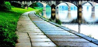 Percorso del fiume Susquehanna Fotografia Stock Libera da Diritti