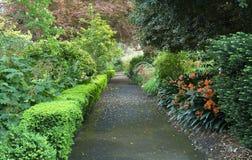 PERCORSO del giardino Fotografie Stock