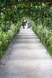 percorso del giardino Fotografie Stock Libere da Diritti