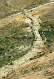 Percorso del Inca, Bolivia Fotografia Stock