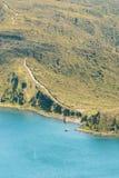 Percorso del lago Immagine Stock