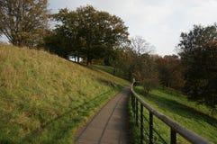 Percorso del parco di Greenwich Fotografia Stock