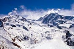 Percorso del pattino a Matterhorn Immagini Stock Libere da Diritti