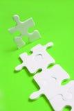 Percorso del puzzle Immagini Stock Libere da Diritti