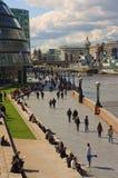 Percorso del Tamigi da Tower Bridge Fotografie Stock Libere da Diritti