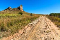 percorso della collina da superare Fotografia Stock Libera da Diritti