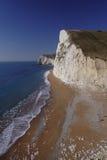 Percorso della costa sud in Dorset fotografia stock