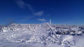 Percorso della cresta di Krkonose Fotografia Stock