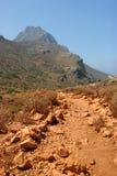 Percorso della montagna Fotografia Stock Libera da Diritti