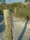 Percorso della spiaggia Immagini Stock Libere da Diritti