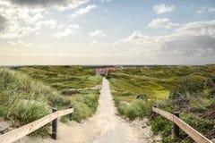 Percorso delle dune Immagini Stock Libere da Diritti