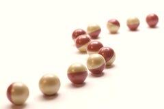 Percorso delle palline di paintball Fotografia Stock