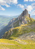 Percorso di Hinking, Svizzera Fotografie Stock Libere da Diritti