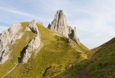Percorso di Hinking, Svizzera Fotografia Stock