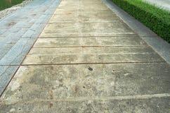 Percorso di pietra del pavimento Fotografia Stock