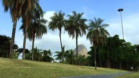 Percorso di Rio de Janeiro Flamengo Park Bike stock footage