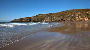 Percorso litoraneo di Anglesey Fotografie Stock