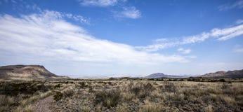 Percorso nel deserto Immagine Stock Libera da Diritti