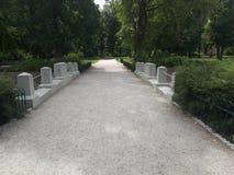 Percorso nel giardino di Bernardinai fotografia stock